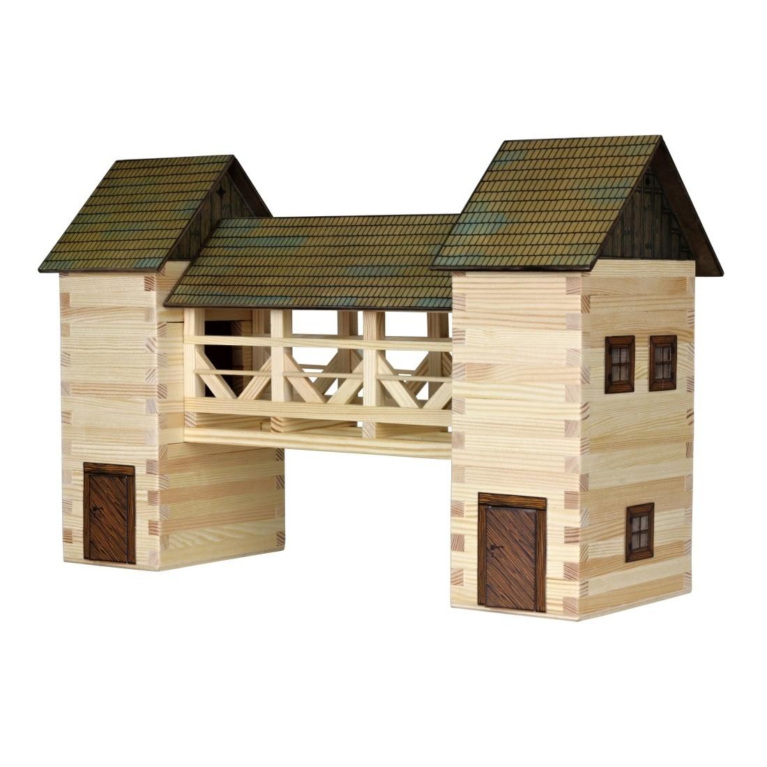 Walachia Dřevěná slepovací stavebnice Most