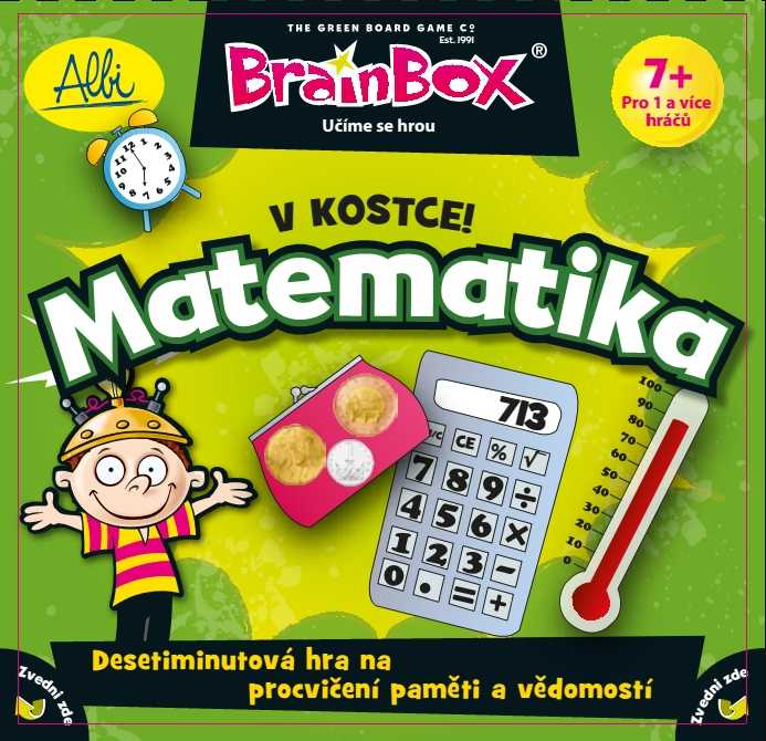 Vzdělávací dětské hry - V kostce! Matematika