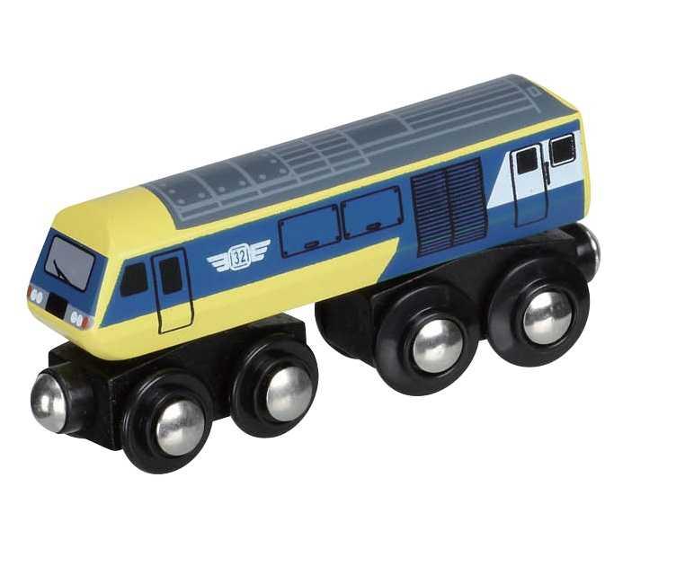 Maxim Dřevěná lokomotiva rychlovlak