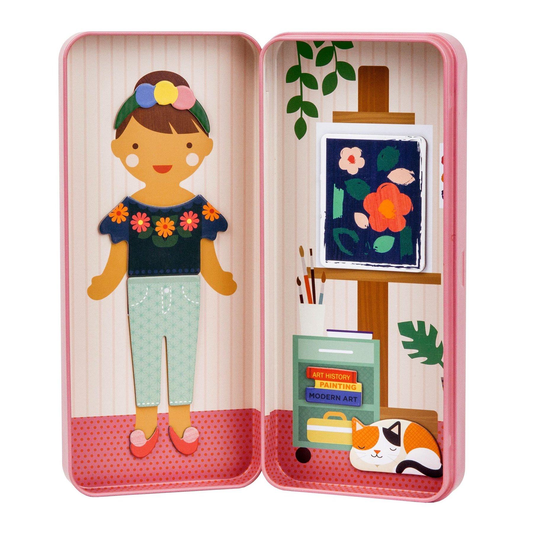 Petitcollage Magnetické puzzle Umělkyně