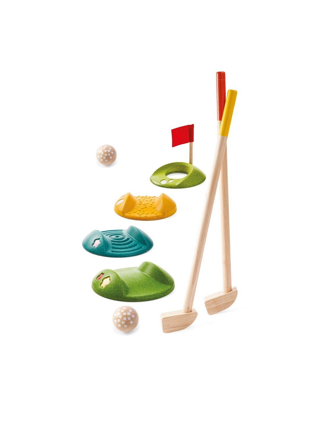 PlanToys Sada Minigolf pro 2 hráče