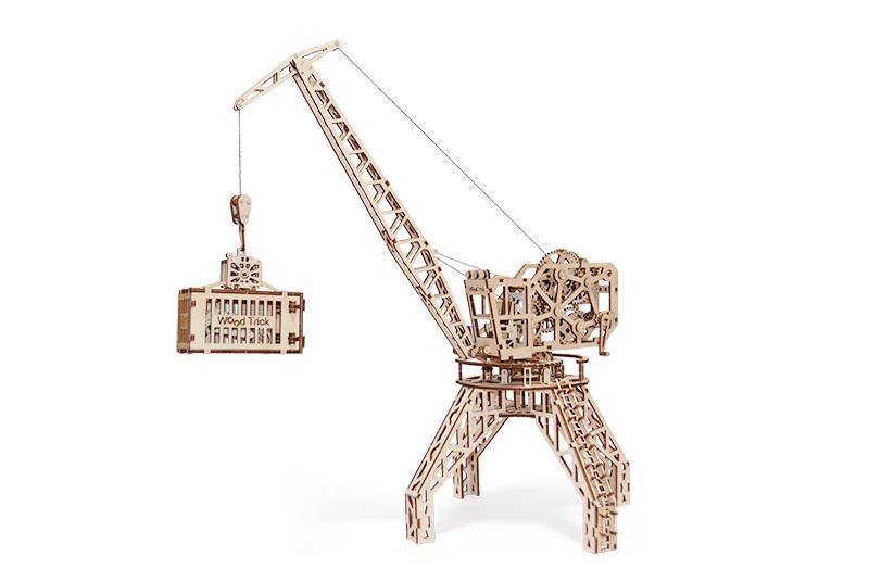 Wood Trick 3D mechanické puzzle - Jeřáb