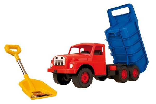 Auto Tatra 148 plast. modro-červená