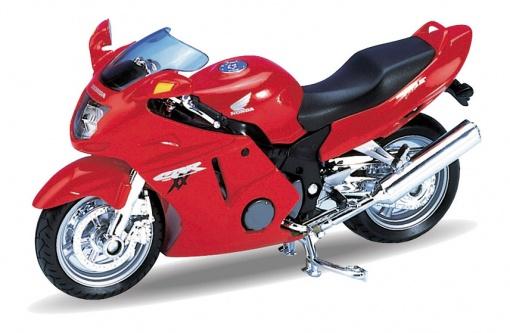 Welly - Motocykl Honda CBR1100XX model 1:18 červená