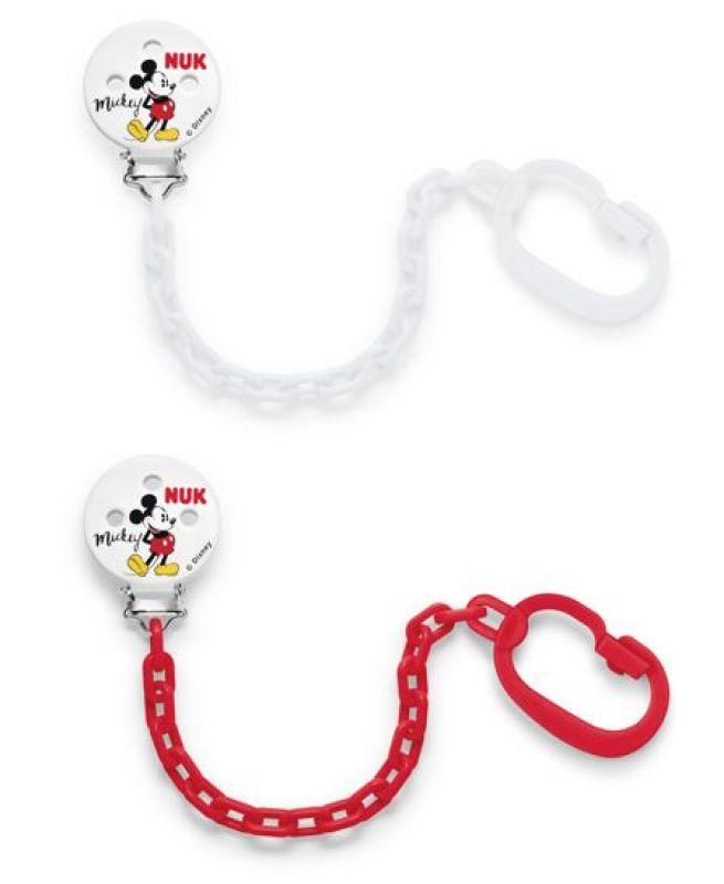 NUK Řetízek na dudlík Mickey Mouse 1ks