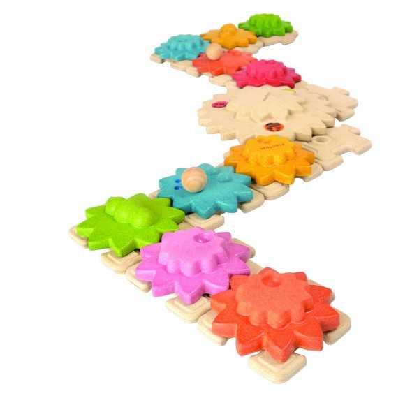 Plantoys Puzzle ozubená kolečka
