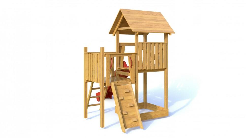 Dřevěné dětské hřiště - Dětské hřiště BOBÍK