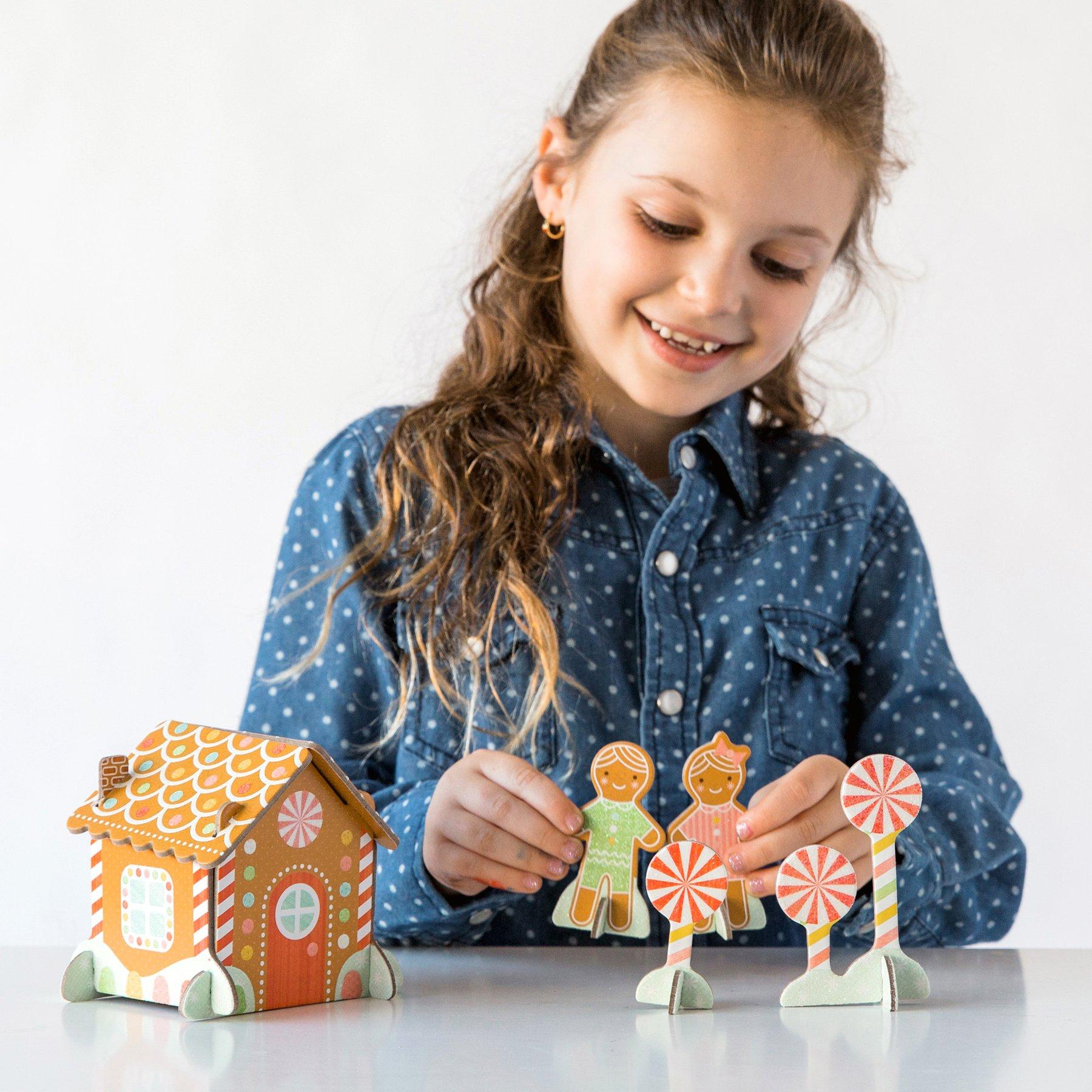 Petitcollage 3D puzzle Perníková chaloupka