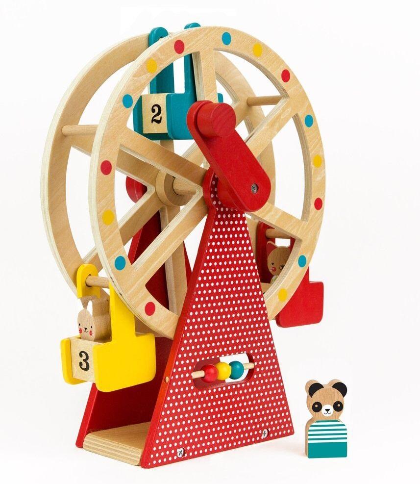 Petit Collage Dřevěné ruské kolo
