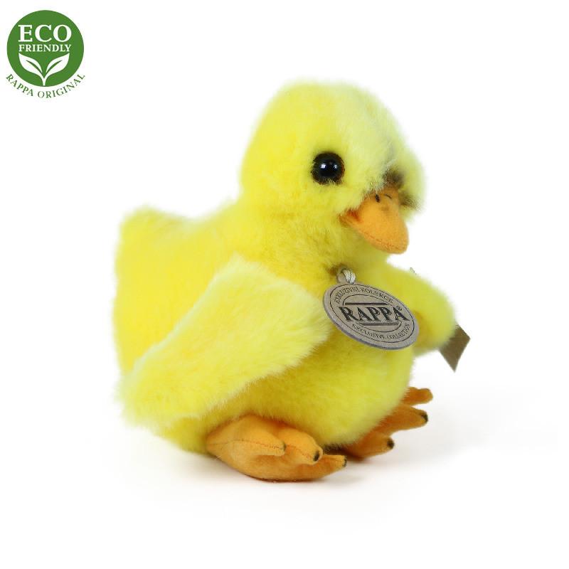 Rappa Plyšové kuře stojící 14 cm ECO-FRIENDLY