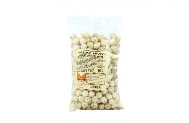 Zdravé mlsání - Křupky rýžové jogurt - švestka skořice Natural