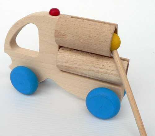 Muzikální hračky - Nákladní auto se dvěma válci