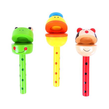Bigjigs Toys Kaskaněty na tyčce zvířátka 1 ks