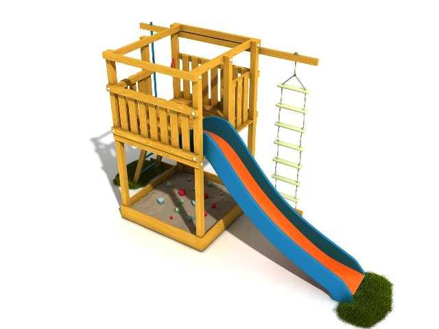 Dřevěné dětské hřiště - Stavebnice hřiště Terezka