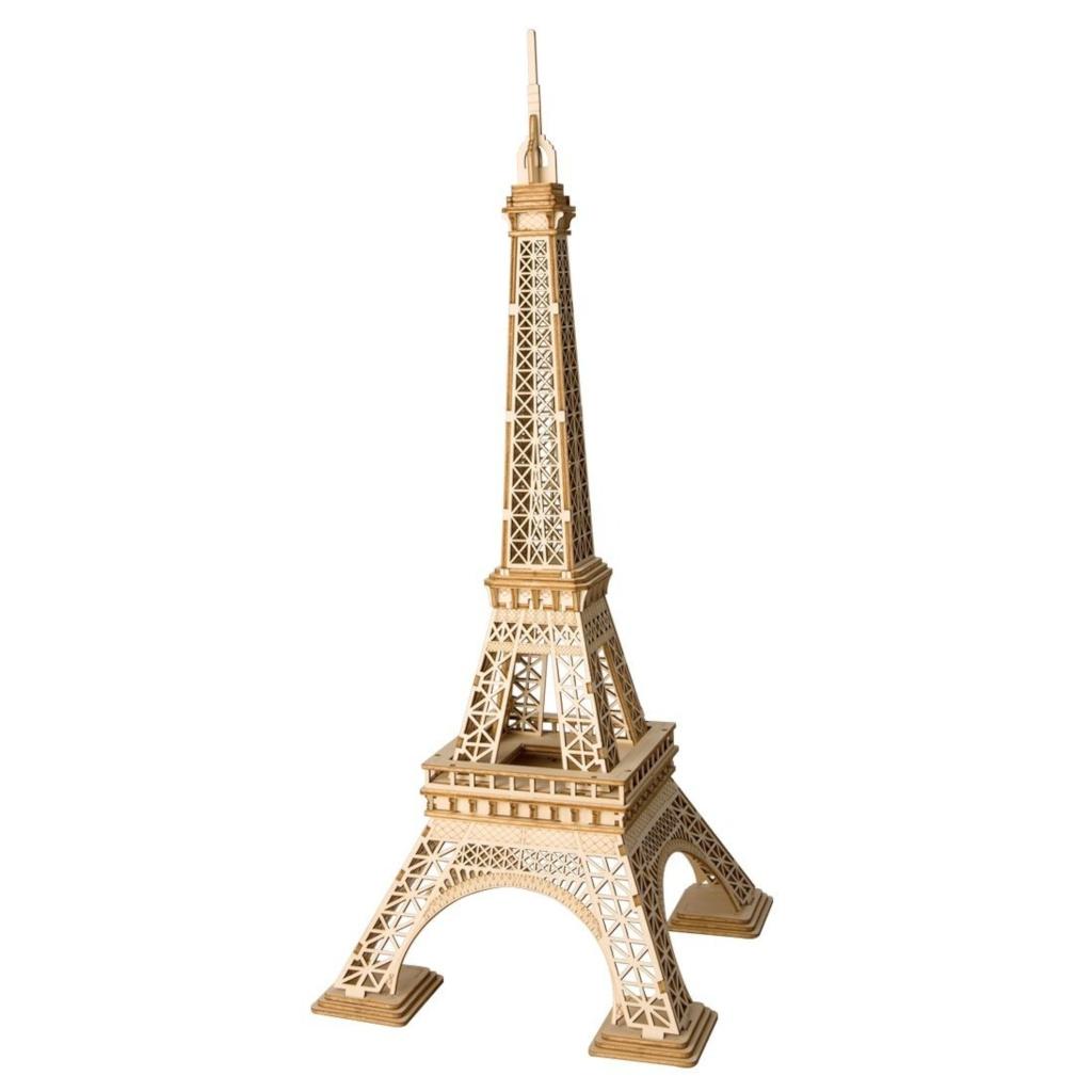 RoboTime dřevěné 3D puzzle Eiffelova věž