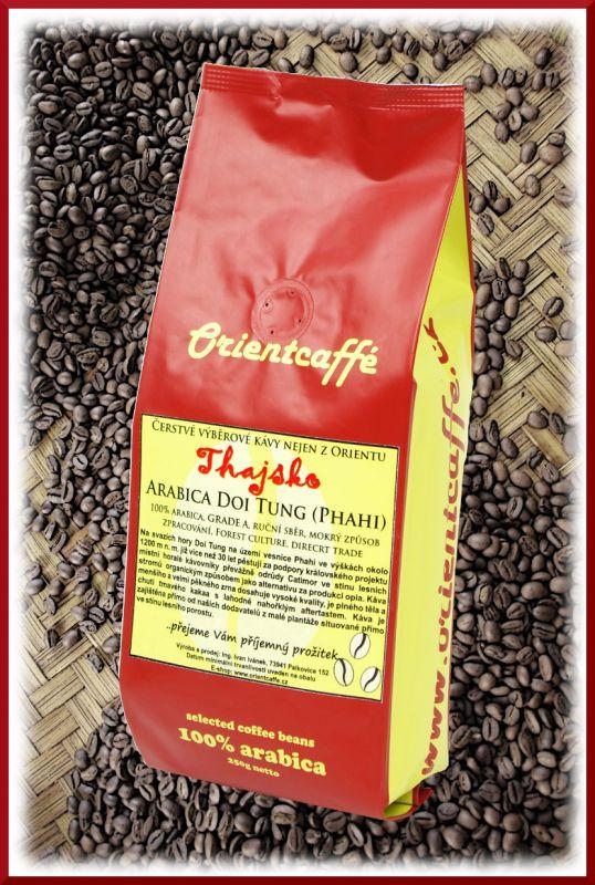 Bio káva - Arabica Doi Tung (Phahi), grade A