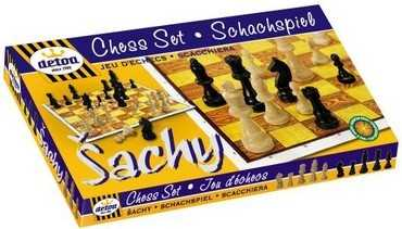 Detoa Dřevěné šachy