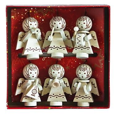 Detoa Vánoční ozdoby andělíčci