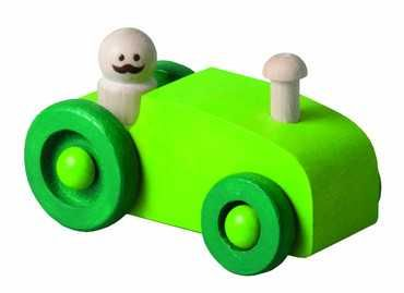 Autíčko zelené - traktor