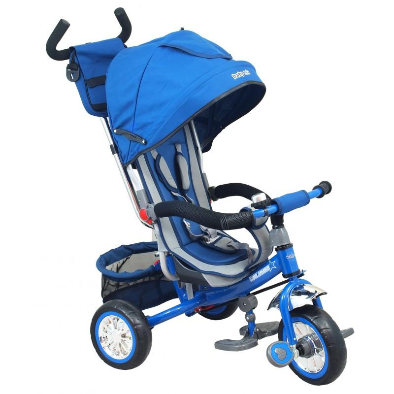 Dětská trojkolka B37 modrá