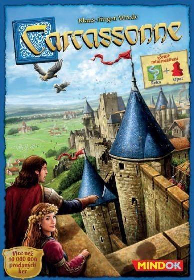 Rodinné deskové hry - Carcassonne: Základní hra