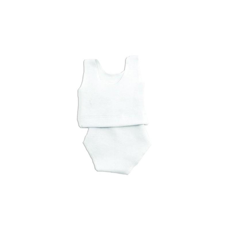 Petitcollin Spodní prádlo bílé (pro panenku 36-48 cm)