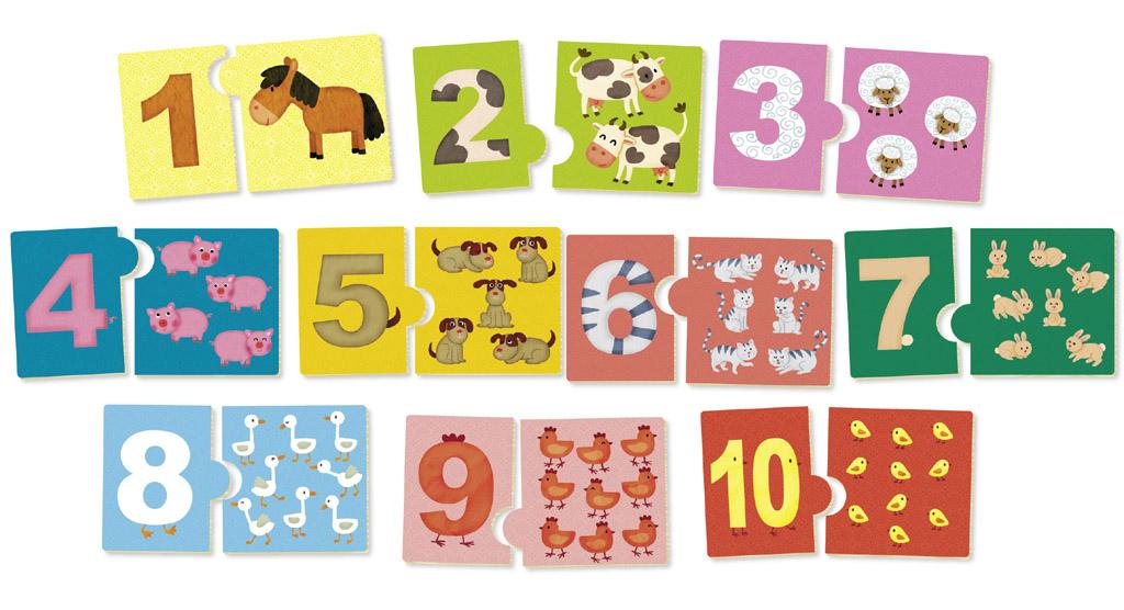 Vilac Učíme se čísla se zvířátky