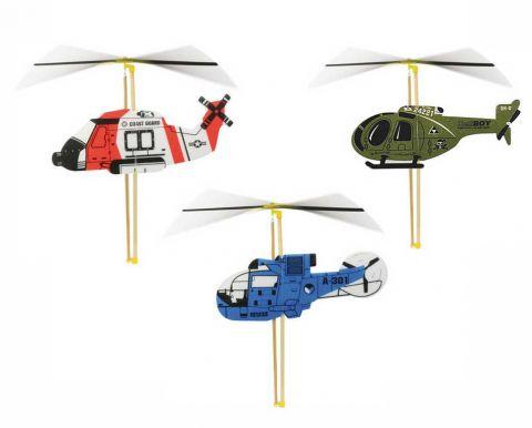 Vilac stavebnice vrtulníku s natahovací vrtulí