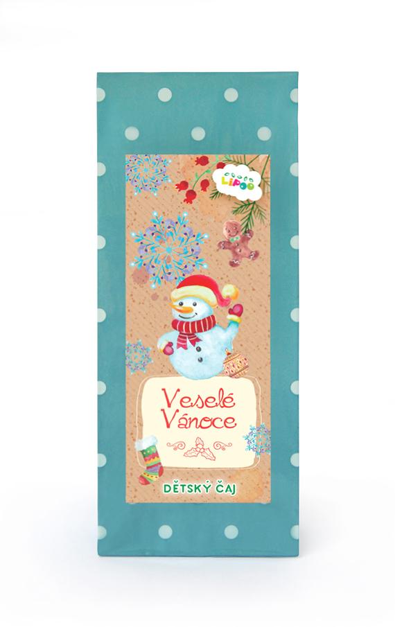 Čaj - Dárkové čaje - Veselé Vánoce se sněhulákem