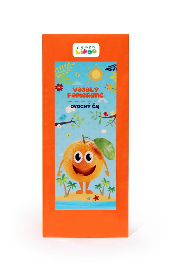 Čaj - Ovocný čaj - Veselý pomeranč