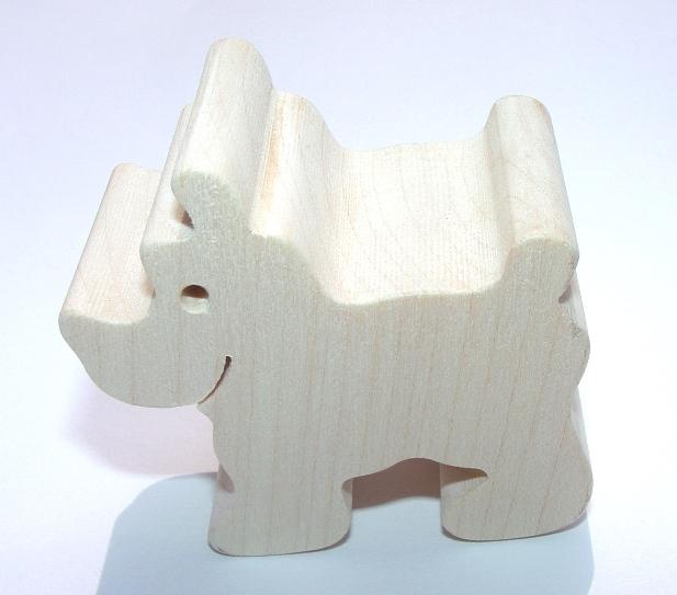 Fauna Dřevěné zvířátko pes