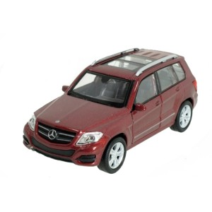 Welly - Mercedes-Benz GLK model 1:34 bordo