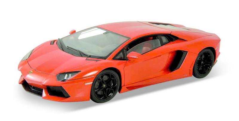 Welly - Lamborghini Aventator LP700-4 1:24 oranžový