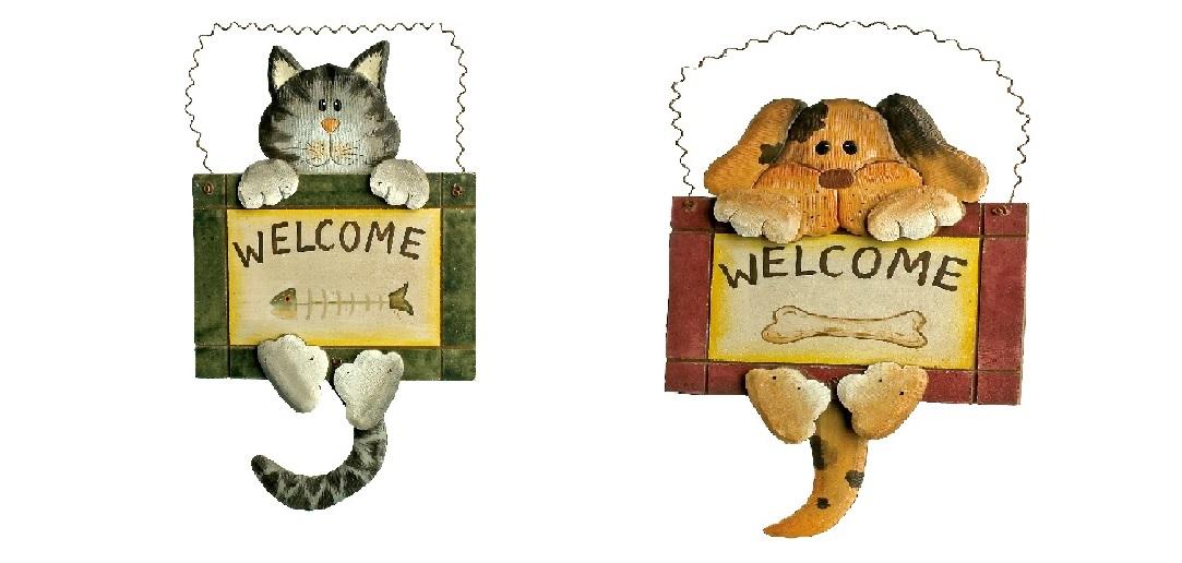 Small Foot Sada dekorativní vývěska Welcome 2 ks