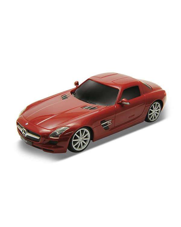 Welly - Mercedes-Benz SLS AMG model RC 1:24 červený