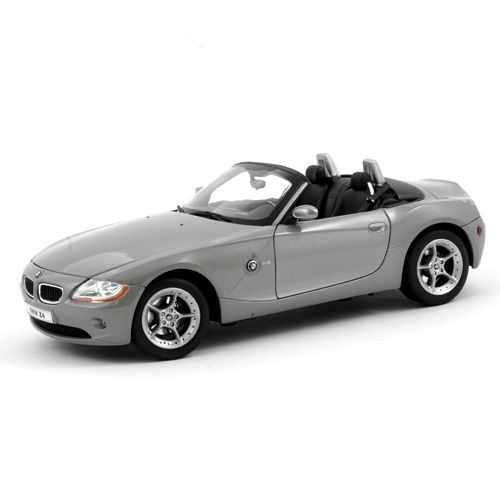 Welly -  BMW Z4 1:34 šedé