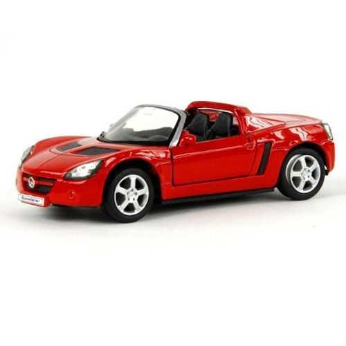 Welly Opel Speedster (2001) model 1:34 červený