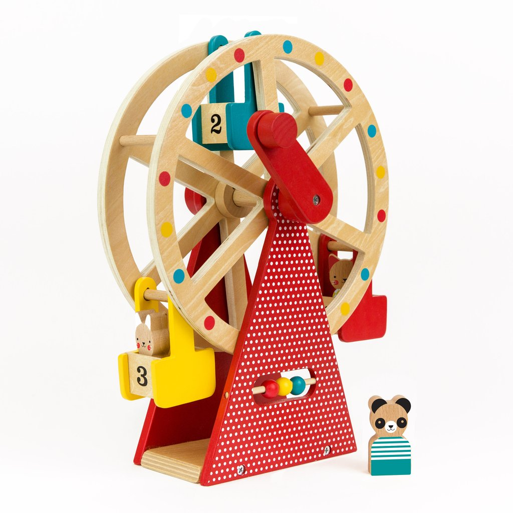 Petitcollage Dřevěné ruské kolo