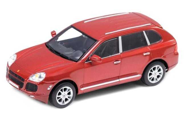 Welly - Porsche Cayenne turbo model 1:24 červené
