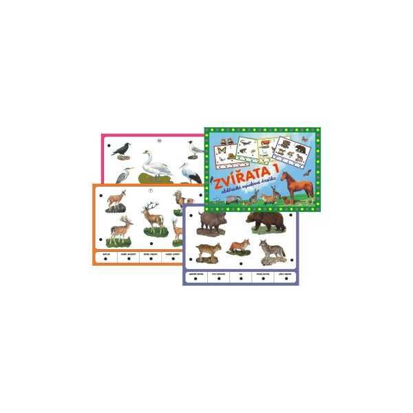 Voltík vzdělávací elektronická hračka - Zvířata 1